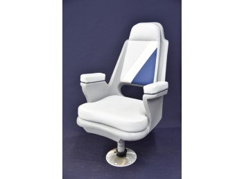 High Back Captains Chair with post & hardware