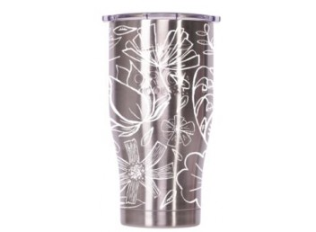 Orca 27oz Chaser -Floral Sketch Stainless