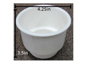 Standard White Cup Holder Insert